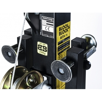 BLOCK AND BLOCK BETA-70 Truss lifter 230kg 6.5m #4