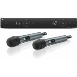 Sistem microfon wireless dual Sennheiser XSW1-825 DUAL