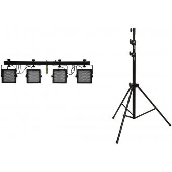 EUROLITE Set LED KLS-401 + STV-50-WOT EU Steel stand