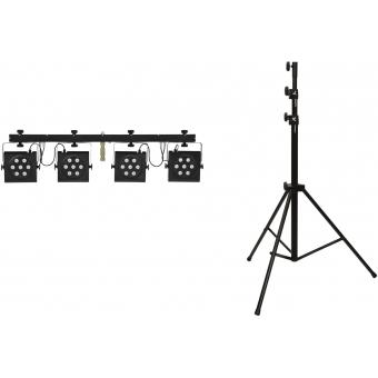 EUROLITE Set LED KLS-801 + STV-50-WOT EU Steel stand