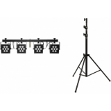 EUROLITE Set LED KLS-2500 + STV-50-WOT EU Steel stand