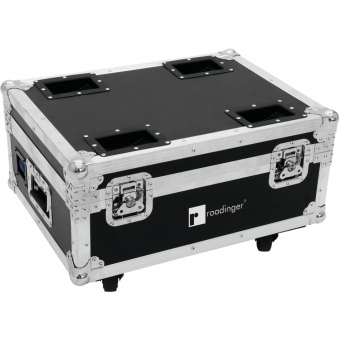 ROADINGER Flightcase 4x AKKU IP UP-4 QuickDMX with charging func #2