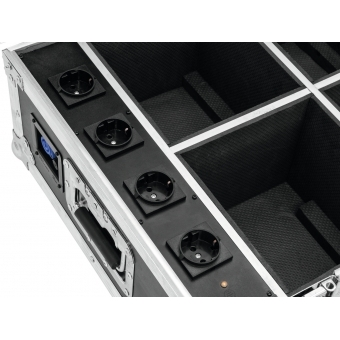 ROADINGER Flightcase 4x AKKU IP UP-4 QuickDMX with charging func #5