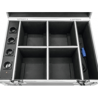 ROADINGER Flightcase 4x AKKU IP UP-4 QuickDMX with charging func #6