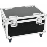 ROADINGER Flightcase 4x LED IP PAR 12x12W HCL with wheels