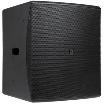 "BASO18/B - Compact 18"" bass reflex cabinet - Black"