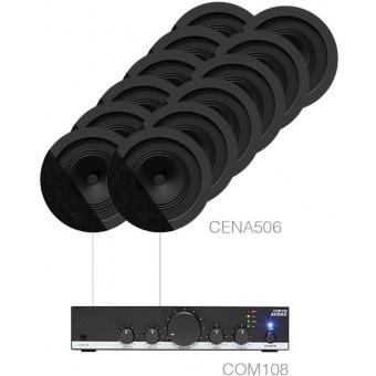 CANTO5.12/B - 12 x CENA506 + COM108 - Black version