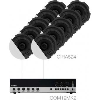 CANTO7.10P/W - 10 x CIRA524 + COM12MK2 - White version