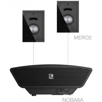CERRA2.3/B - 2x MERO2 + NOBA8A - Black
