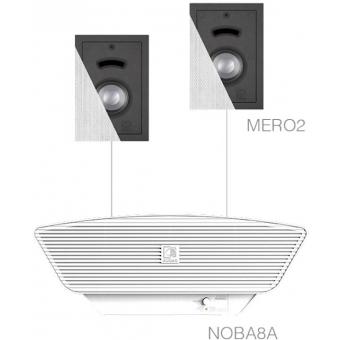 CERRA2.3/W - 2x MERO2 + NOBA8A - White