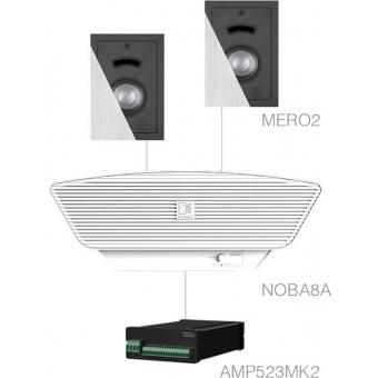 CERRA2.3+/W - 2x MERO2 + NOBA8A + AMP523MK2 - White