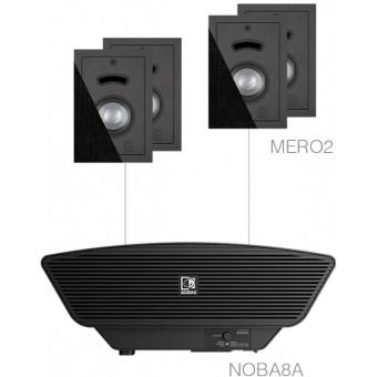 CERRA2.5/B - 4x MERO2 + NOBA8A - Black