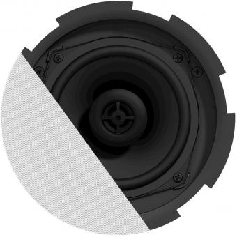 "CIRA524/W - QuickFit™ 2-way 5 1/4"" ceiling speaker with TwistFix™ grill - White version, 8Ω & 24 Watt @ 100V"