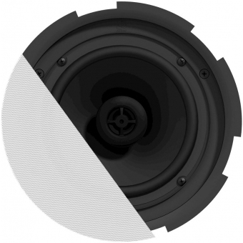"CIRA724/W - QuickFit™ 2-way 6.5"" ceiling speaker with TwistFix™ grill - White version, 8Ω & 100V"