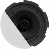 "CIRA730D/W - QuickFit™ 2-way 6.5"" ceiling speaker with TwistFix™ grill - White version, 16 Ω"