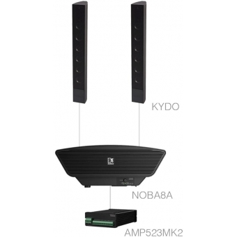 CONGRESS1.3+/B - 2x KYDO + NOBA8A + AMP523MK2 - Black