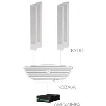 CONGRESS1.5+/W - 4x KYDO + NOBA8A  + AMP523MK2 - White