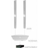 CONGRESS4.3+/W - 2x AXIR + NOBA8A + AMP523MK2 - White