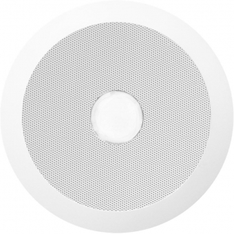 CSE55/W - Evacuation quick fit ceiling speaker, 6w, 100v + red led - White