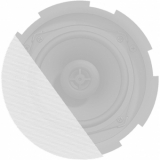GLI05/OW - Front grill for CIRA5 series speakers with cloth & outdoor treatment - White version