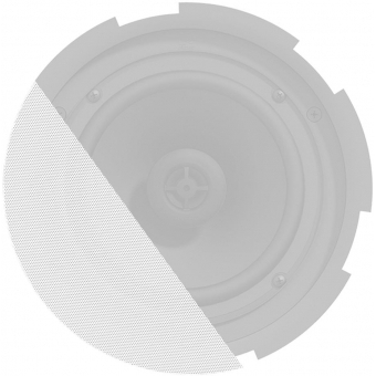 GLI07/OW - Front grill for CIRA7 series speakers with cloth & outdoor treatment - White version