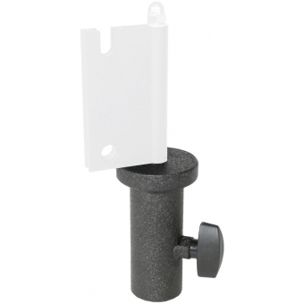 MBK250/B - Head base 35mm stand adapter for column speakers - Black