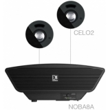 SENSO2.3/B - 2x CELO2 + NOBA8A - Black