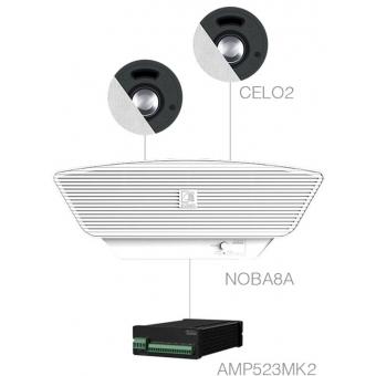 SENSO2.3+/W - 2x CELO2 + NOBA8A + AMP523MK2 - White