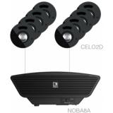 SENSO2.9/B - 8x CELO2D + NOBA8A + AMP523MK - Black