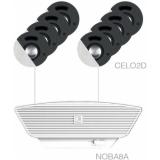 SENSO2.9/W - 8x CELO2D + NOBA8A + AMP523MK - White