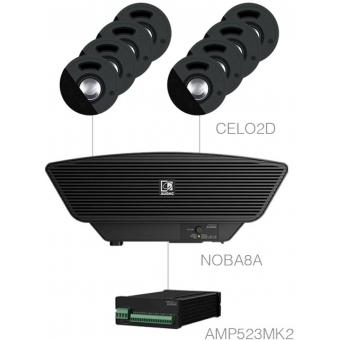 SENSO2.9+/B - 8x CELO2D + NOBA8A + AMP523MK2 - Black