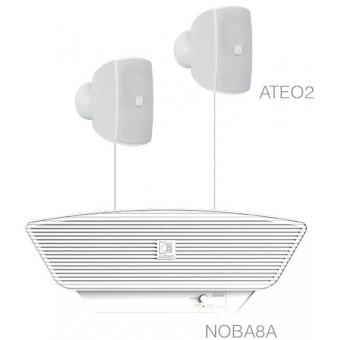 SONA2.3/W - 2x ATEO2 + NOBA8A - White