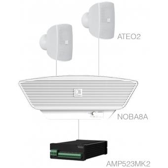 SONA2.3+/W - 2x ATEO2 + NOBA8A + AMP523MK2 - White