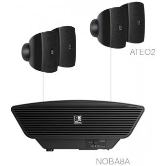 SONA2.5/B - 4x ATEO2 + NOBA8A - Black
