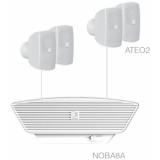 SONA2.5/W - 4x ATEO2 + NOBA8A - White