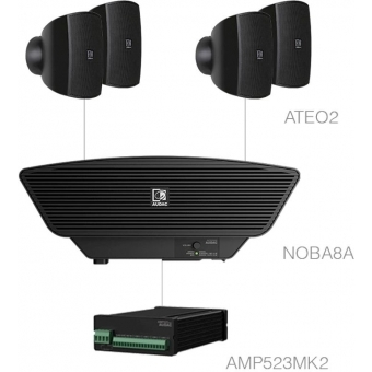 SONA2.5+/B - 4x ATEO2 + NOBA8A + AMP523MK2 - Black