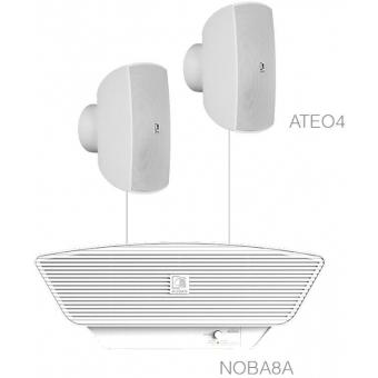 SONA4.3/W - 2 x ATEO4 + NOBA8A  - White