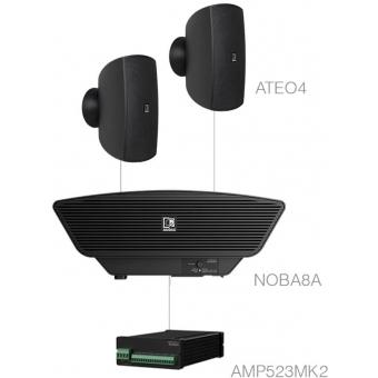 SONA4.3+/B - 2 x ATEO4 + NOBA8A + AMP523MK2 - Black