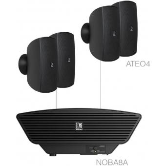 SONA4.5/B - 4x ATEO4  + NOBA8A - Black