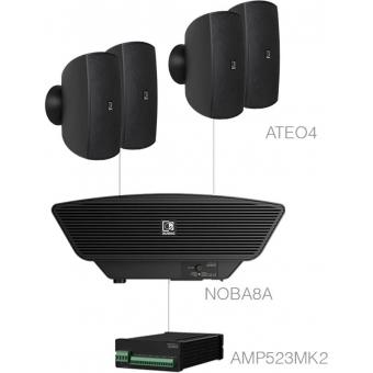 SONA4.5+/B - 4x ATEO4  + NOBA8A +AMP523MK2 - Black