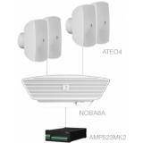 SONA4.5+/W - 4x ATEO4  + NOBA8A +AMP523MK2 - White