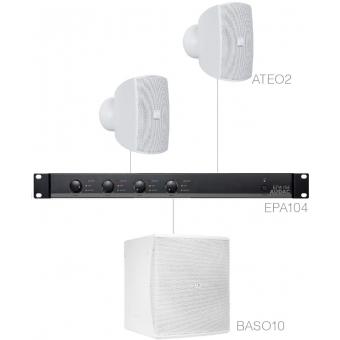 SUBLI2.3E/W - 2 x ATEO2 + BASO10 + EPA104 - White