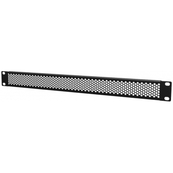 "BSV01H - 19"" blind panels ventilated with hexagonal perforation - 1 unit"