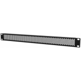 """BSV01H - 19"""" blind panels ventilated with hexagonal perforation - 1 unit"""