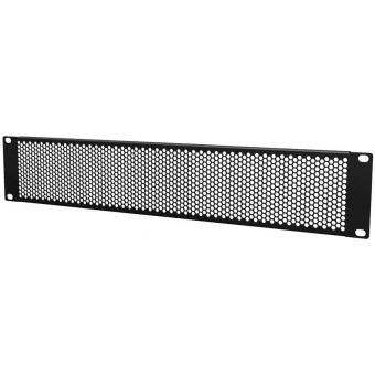 "BSV02H - 19"" blind panels ventilated with hexagonal perforation - 2 units"
