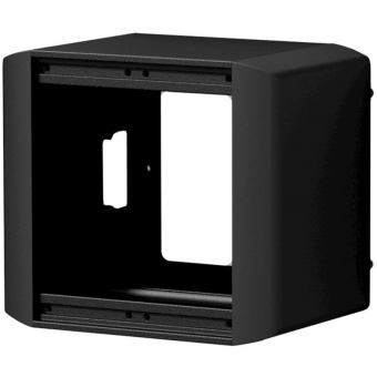 CASY032/B - CASY on-wall chassis - 2 space - Black