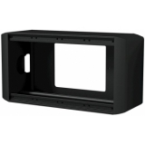 CASY034/B - CASY on-wall chassis - 4 space - Black