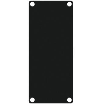 CASY101A/B - CASY 1 space closed aluminum blind plate - Black