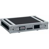 "FC102/B - 19"" flightcase - 2HE - 507mm depth - Black version"