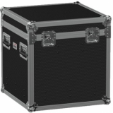 FCE066HD/B - Flightcase EURO with hinged cover and divider profile - Black
